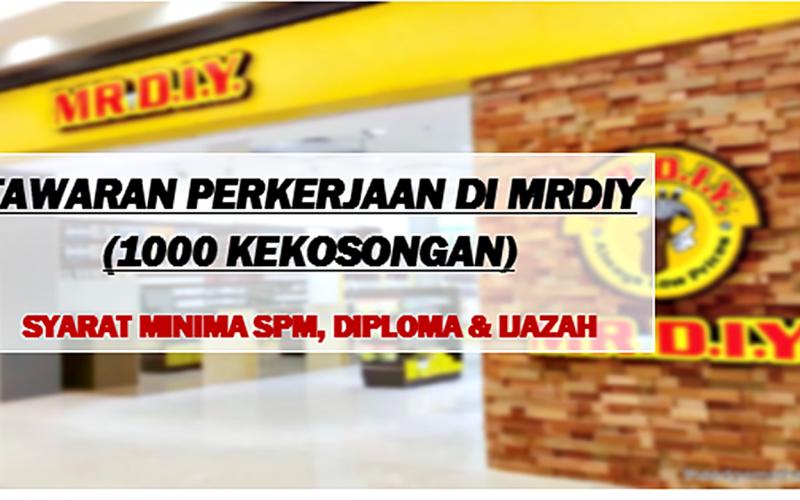 MRDIY-Tawar-Lebih-1000-Peluang-Pekerjaan