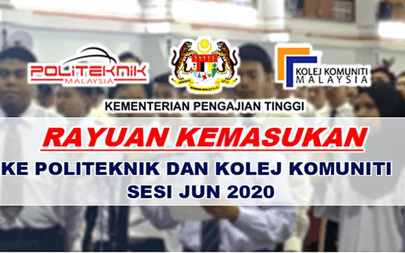 rayuan-kemasukan-ke-politeknik-sesi-jun-2020